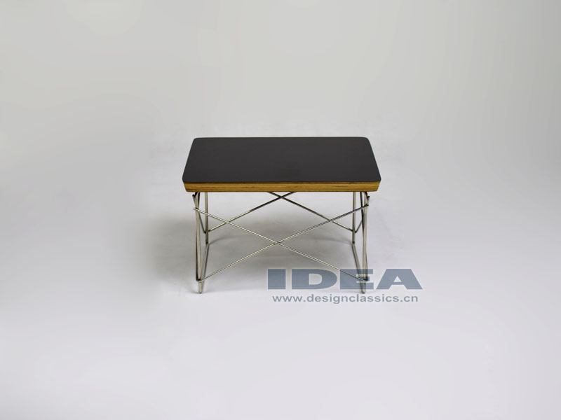 Eames wire base table black for Chaise wire eames