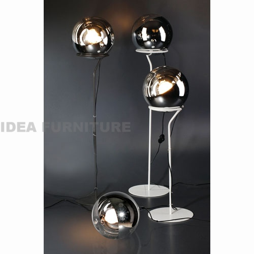 Mirror ball table lamp