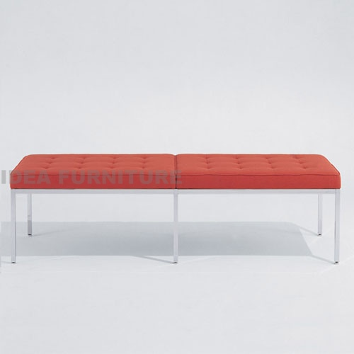 Knoll 3 Seater Bench