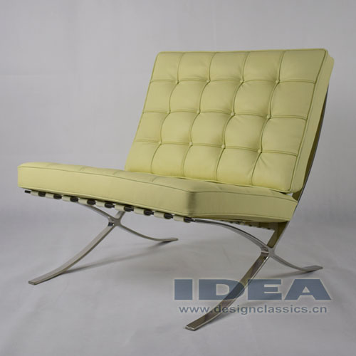 Barcelona Chair Cream White