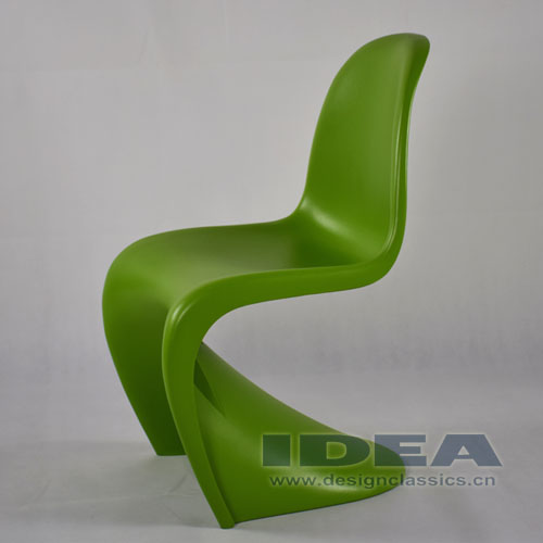 Panton Chair Green