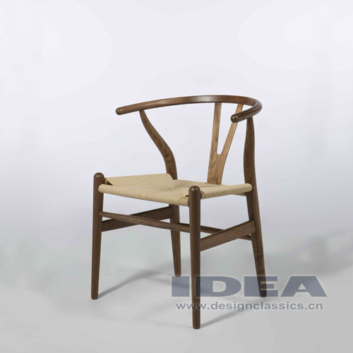 Wishbone Chair(Y Chair) Walnut Wooden