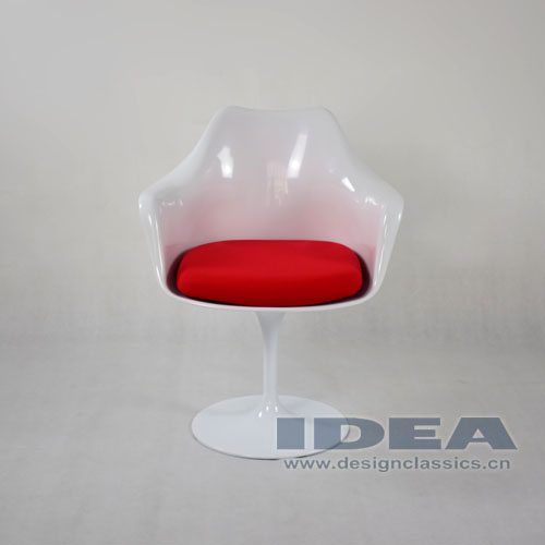 Tulip Armchair Red