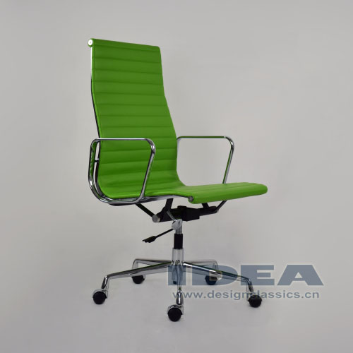 Eames Style Aluminum Office Chair Green