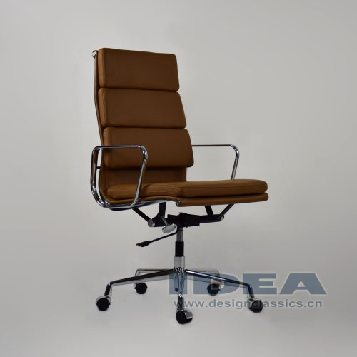 Eames Softpad High Back Office Chair Brown
