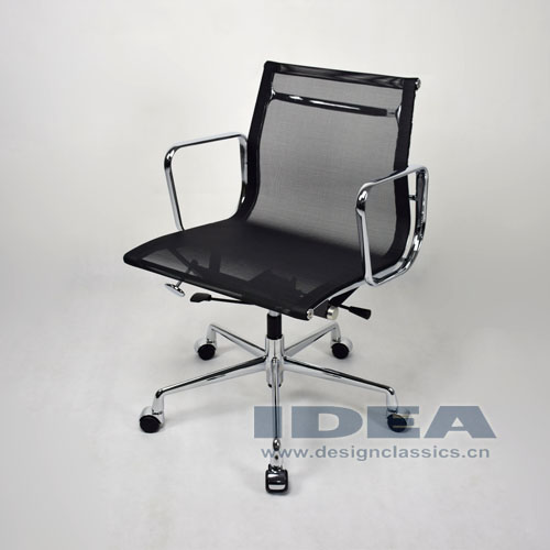 Eames Mesh Low Back Office Chair Black